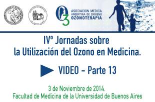 IVº Jornadas sobre la Utilización del Ozono en Medicina – Video 13