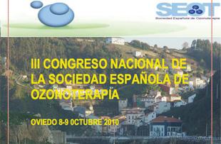 IIIº Congreso Nacional de la Sociedad Española de Ozonoterapia (SEOT)