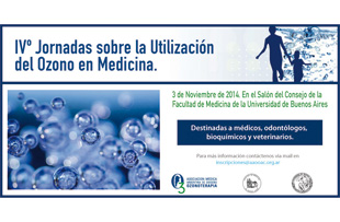 IVº Jornadas Sobre Utilización De Ozono En Medicina