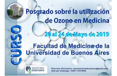 Posgrado sobre la utilización de Ozono en la Medicina